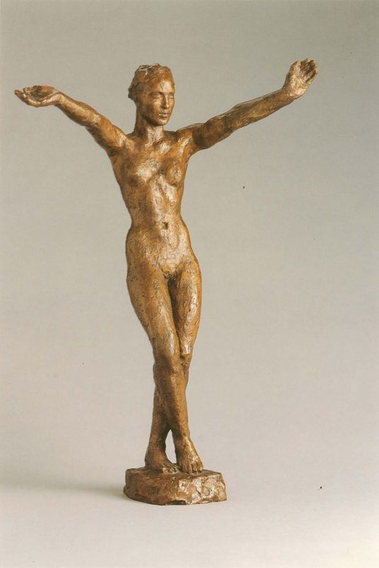 Georg Kolbe (1877-1947), sculpture en bronze, 1929
