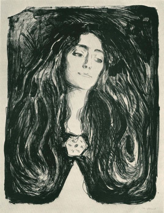 Edvard Munch (1863-1944), lithographie, 1903